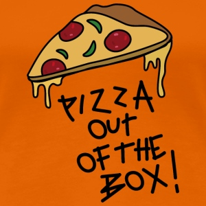 Pizza out of the Box_v1 T-Shirts - Frauen Premium T-Shirt