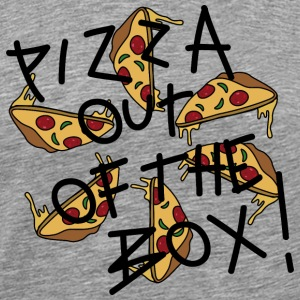 Pizza out of the Box_v3 T-Shirts - Männer Premium T-Shirt