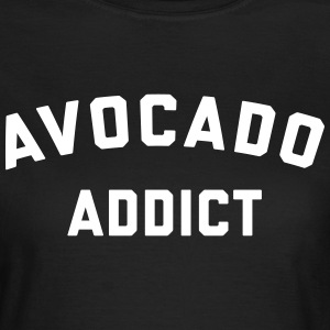 Avocado Addict Funny Quote T-shirts - Dame-T-shirt