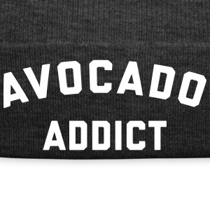 Avocado Addict Funny Quote Kasketter & huer - Winterhue