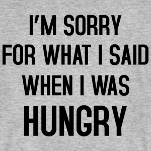I'm sorry for what i said T-Shirts - Männer Bio-T-Shirt