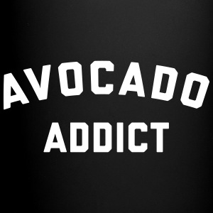 Avocado Addict Funny Quote Mugs & Drinkware - Full Colour Mug