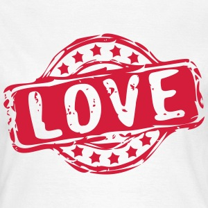 Stempel LOVE T-Shirts - Frauen T-Shirt