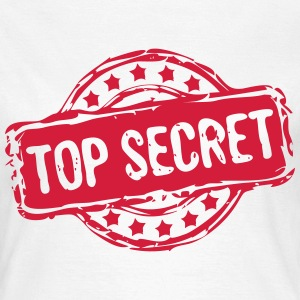 Stempel TOP SECRET T-Shirts - Frauen T-Shirt