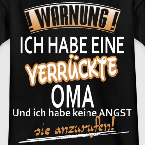 warnung Oma T-Shirts - Teenager T-Shirt