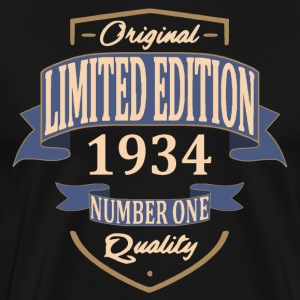 Limited Edition 1934 Tee shirts - T-shirt Premium Homme