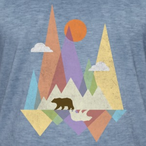 Ours et Montagne #2 Tee shirts - T-shirt vintage Homme