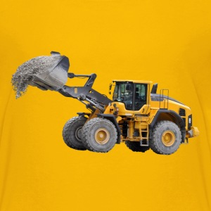wheel loader Shirts - Teenage Premium T-Shirt