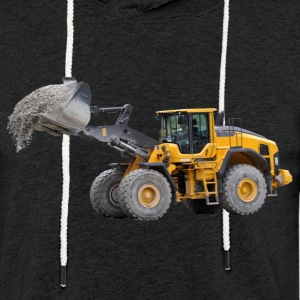 wheel loader Hoodies & Sweatshirts - Light Unisex Sweatshirt Hoodie