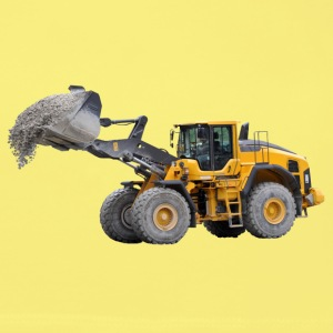 wheel loader Topper - Øko-singlet for kvinner