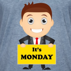 It's MONDAY FUN T-Shirts - Männer Vintage T-Shirt