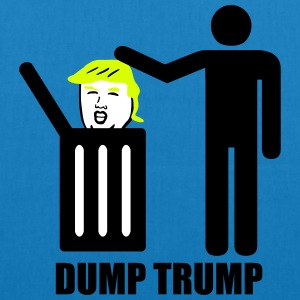 Dump Trump Bags & Backpacks - EarthPositive Tote Bag