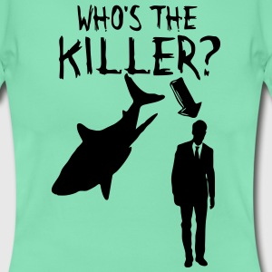 Human vs Shark (Mensch vs Hai) T-Shirts - Frauen T-Shirt
