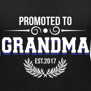 Promoted to Grandma T-Shirts - Women's V-Neck T-Shirt