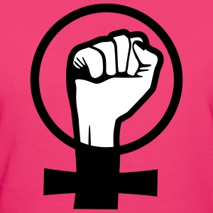 Girlpower - Women's Rights T-skjorter - Økologisk T-skjorte for kvinner