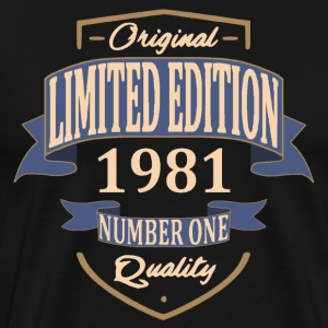 Limited Edition 1981 Tee shirts - T-shirt Premium Homme