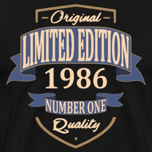 Limited Edition 1986 Tee shirts - T-shirt Premium Homme