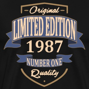 Limited Edition 1987 Tee shirts - T-shirt Premium Homme