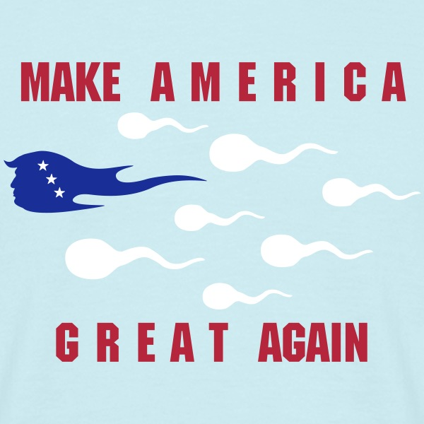 make america great_vec_3 nl T-shirts - Mannen T-shirt