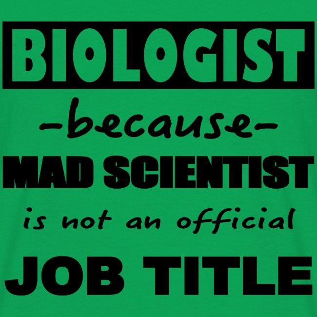 T-shirt Homme Biologist