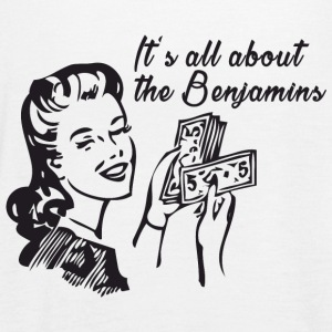 All about the Benjamins Tops - Frauen Tank Top von Bella