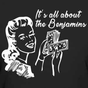 All about the Benjamins T-Shirts - Frauen Bio-T-Shirt