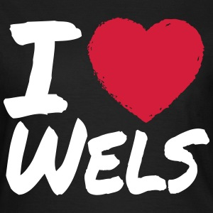 I Love Wels T-Shirts - Frauen T-Shirt