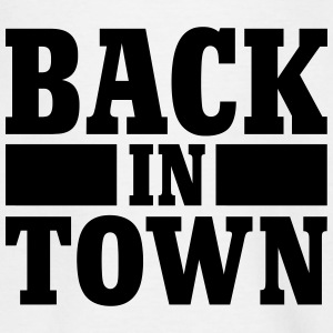Back in town Camisetas - Camiseta niño