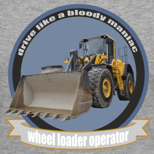 wheel loader operator Long Sleeve Shirts - Women's Premium Longsleeve Shirt