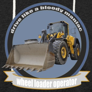 wheel loader operator Hoodies & Sweatshirts - Light Unisex Sweatshirt Hoodie