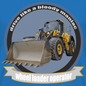 wheel loader operator T-shirts - Herre-T-shirt