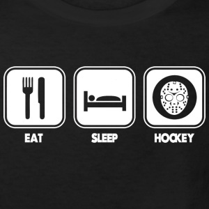 Eat - Sleep - hockey Shirts - Kids' Organic T-shirt