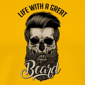 Great Beard - Men's Premium T-Shirt