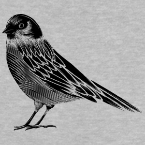Black and white drawing of a bird Baby Shirts  - Baby T-Shirt