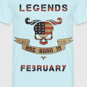 Legenden February US T-Shirts - Männer T-Shirt