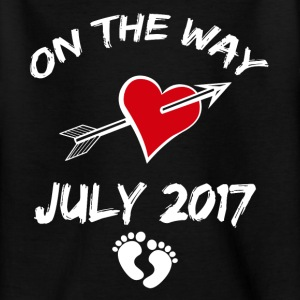 On the way (July 2017) Shirts - Teenage T-shirt