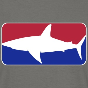 league_shark_vec_3 de Tee shirts - Männer T-Shirt