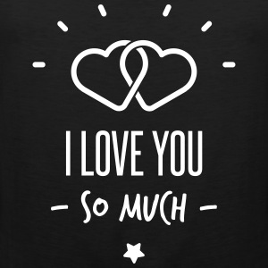 i love you so much Sports wear - Men's Premium Tank Top