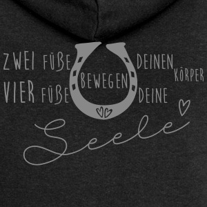 Don't worry, don't cry - ride a horse and fly - Frauen Premium Kapuzenjacke