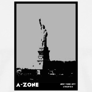 AZONE liberty poster - Men's Premium T-Shirt