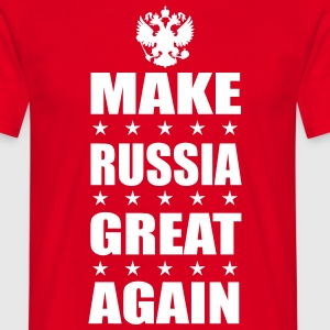 Make RUSSIA GREAT AGAIN Russland Fan T-Shirt - Männer T-Shirt