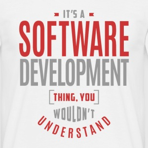 Software Development Thing - Men's T-Shirt