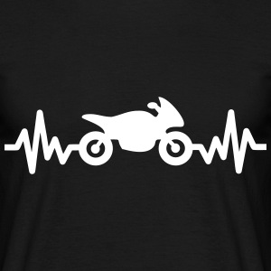 Moto is life - tee shirt motard  - T-shirt Homme