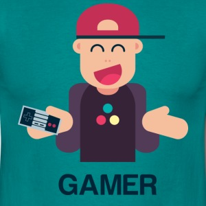 Funny Gamer - T-shirt Homme