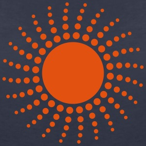 Sun T-Shirts - Women's V-Neck T-Shirt