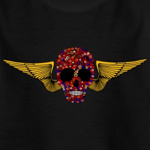 Steam Punk Skull Shirts - Teenage T-shirt