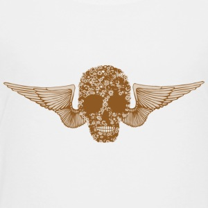 Steam Punk Skull - Teenage Premium T-Shirt