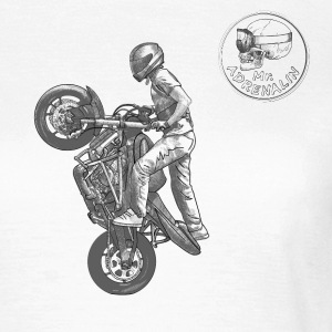 Stunt riding T-shirts - T-shirt dam