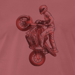 Stunt riding T-shirts - Mannen Premium T-shirt
