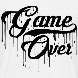 Game Over gaming Design - Men's T-Shirt